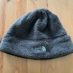 North Face soft brown hat
